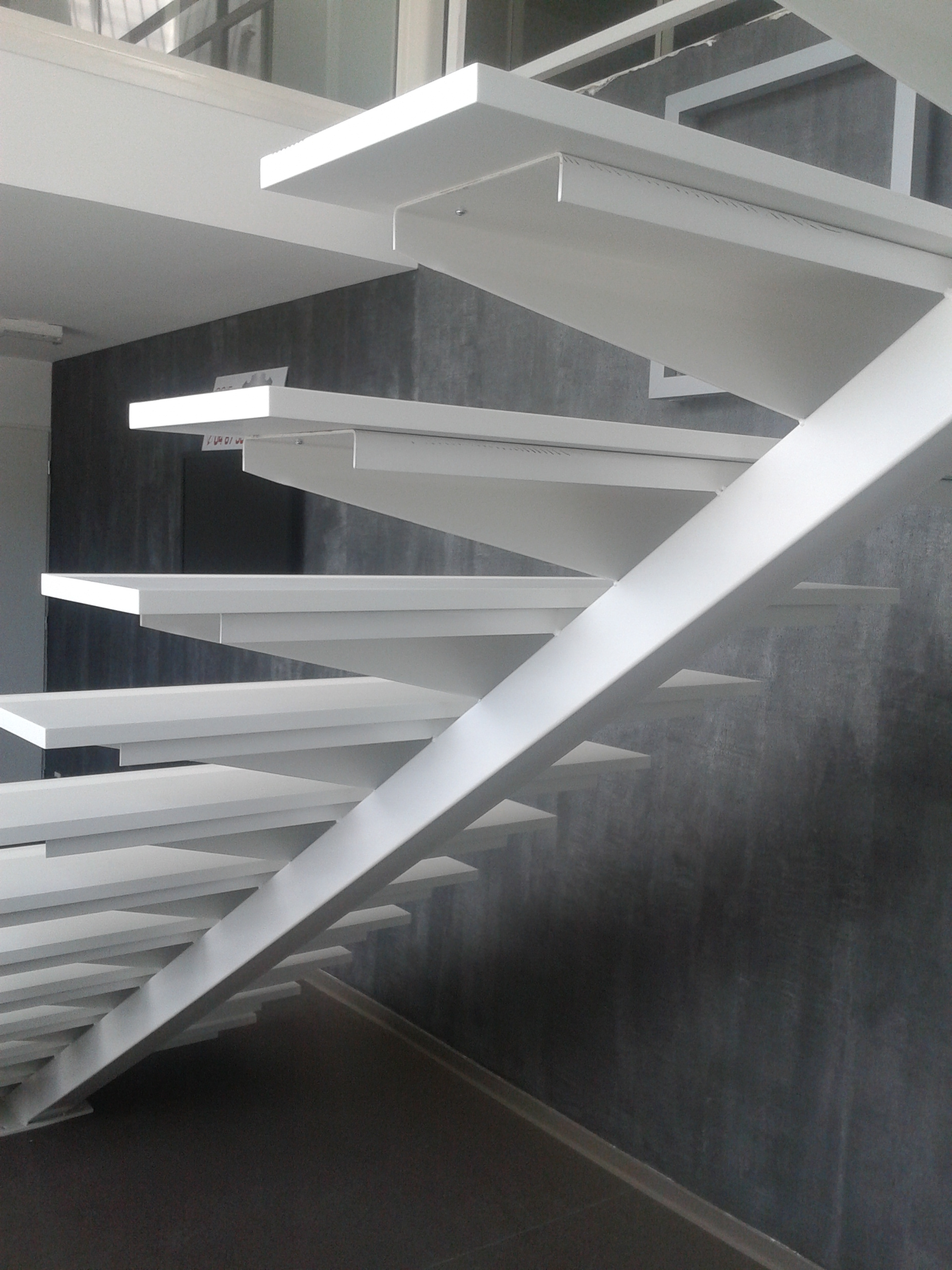 Design Of A Staircase In Stone Acrylic Natural Lg Himacs